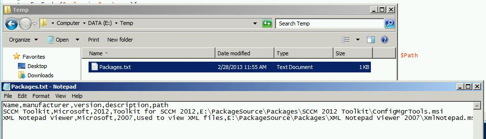 Create multiple packages at the same time in SCCM 2012 SP1